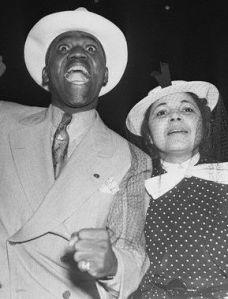 "Bill ""Bojangles"" Robinson and Fannie Clay"