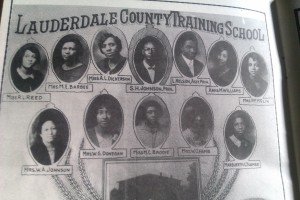 Lauderdale Country Training School Class of 1928