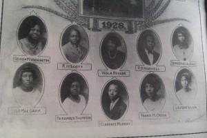 Lauderdale County Training School Class of 1928