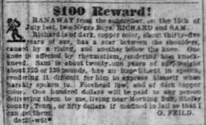 Memphis Commercial Appeal Jan 1, 1857