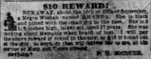 Memphis Commercial Appeal Jan 1, 1857