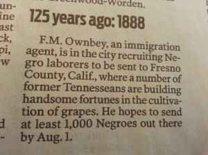 Blacks Recruited for California