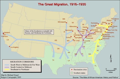 Great Migration - http://www.centerstage.org/portals/23/images/Great-Migration.jpg