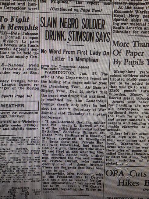 Commercial Appeal Jan 28, 1944