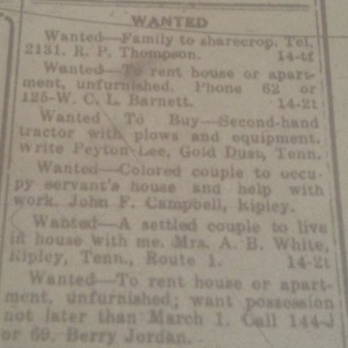 LC Enterprise Wanted 7-6-1916