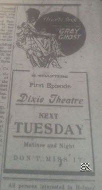 Dixie Theater - July 13, 1917