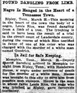 Atlanta Journal Constitution March 24, 1900