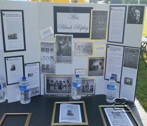 Miss Black Ripley Display