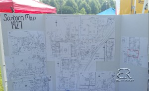 Sanborn Map Display