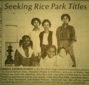 Miss Rice Park