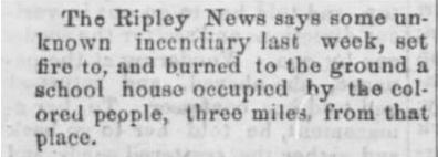 Whig and Tribune (Jackson, TN) August 23, 1873 edition