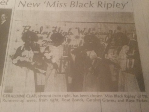 New Miss Black Ripley 1978