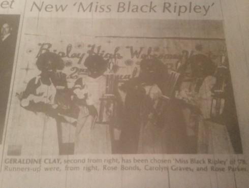 New Miss Black Ripley 1978